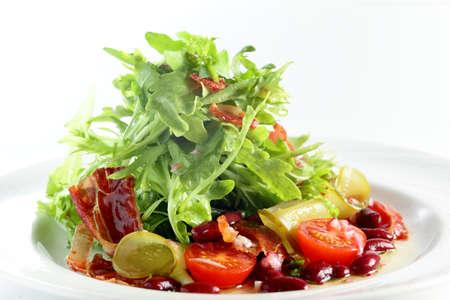 greek food: fresh and tasty salad