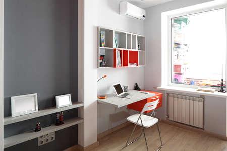 bright and beautiful interior of children room Standard-Bild