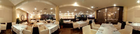 beautiful brand new european restaurant in downtown Zdjęcie Seryjne - 28567882