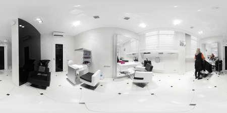 salon de belleza: nuevo interior de la marca de un sal�n de belleza europeo