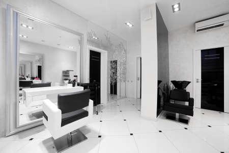 salon: brand new interior of european beauty salon
