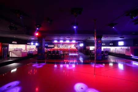 colorful interior of bright and beautiful night club Zdjęcie Seryjne - 32329379