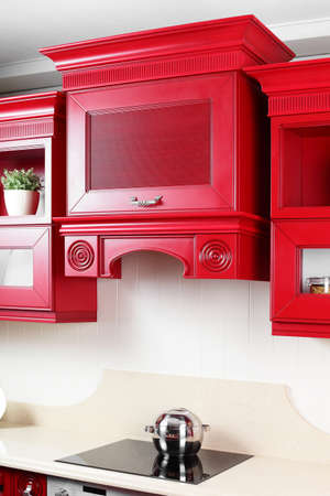 home addition: beautiful and model interior of bright kitchen