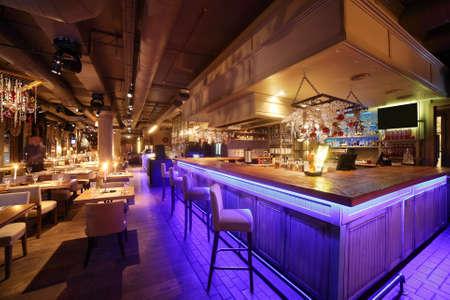 Hermoso nuevo restaurante europeo en el centro Foto de archivo - 32525008