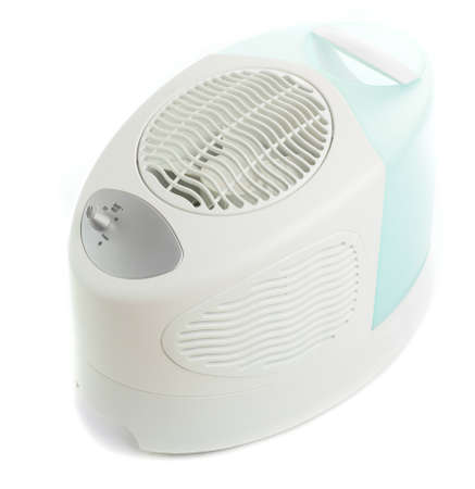 brand new and modern humidifier on white background