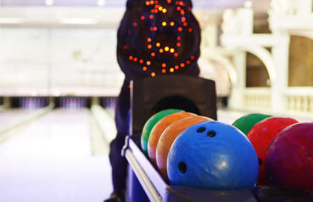 bright and luxury european bowling interior 写真素材 - 97240549