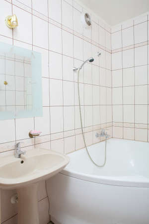 interior of bright and colorful european shower 写真素材 - 97241348