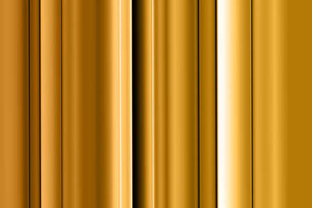 Digital creation of gold stripes with dynamic lighting. Stock Photo - 5414751