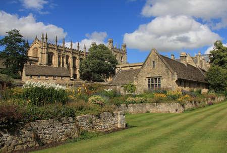 Christ Church War Memorial Garden Oxford, Verenigd Koninkrijk Redactioneel