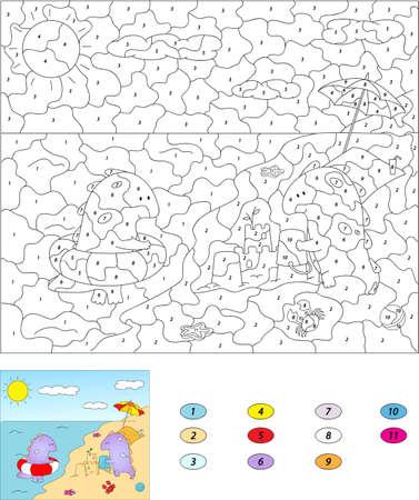 Groß Farbe Nach Zahlen Addition Galerie - Dokumentationsvorlage ...