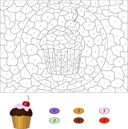 Ungewöhnlich Farbe Nach Anzahl Ausdrucke Für Kinder Bilder ...
