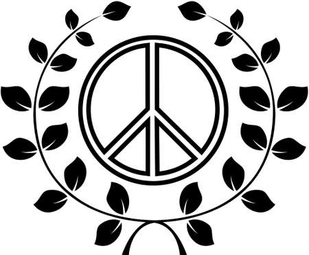 pacific: A symbol of peace, pacific. Vector illustration
