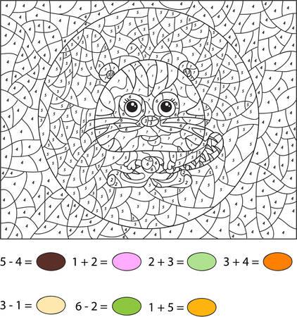 Fantastisch Farbe Nach Anzahl Tiere Bilder - Beispiel Wiederaufnahme ...