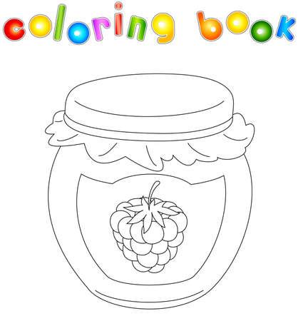 Imagenes De Mermelada Para Colorear. Caracol Colorido Y Caracol En ...
