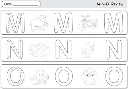 Cartoon Mammoth, Motorcycle, Nightingale, Nest, Octopus And Owl ...