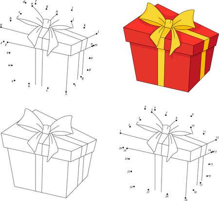Campanas De Navidad. Libro Para Colorear Y Punto A Punto Juego ...