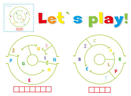 Play and write the words penguin and bear. Find a way out of the maze and make words out of letters