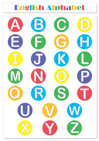 Alphabet tracing worksheet: writing A-Z, coloring book and educational game for kids