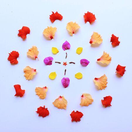 Spring flower deco