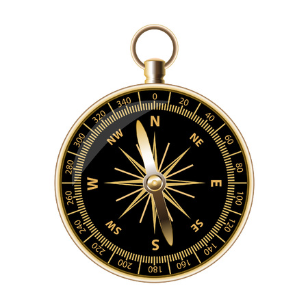 outdoorsman: Retro compass for travels and outdoorsman