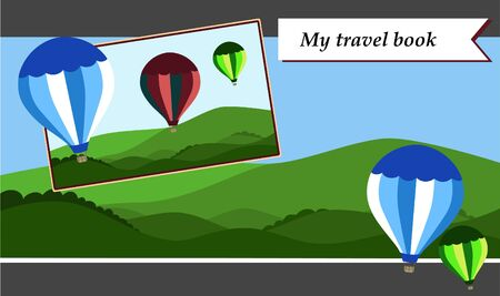 jorney: Scrapbook patterns for travel jorney book