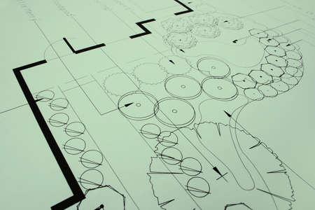 paisajismo: Closeup verde de los jardines planos, como una foto o un fondo. M�s en la cartera.