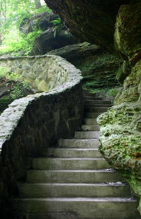 cave exploring: Stone stairway. More earthy scenics in my portfolio.