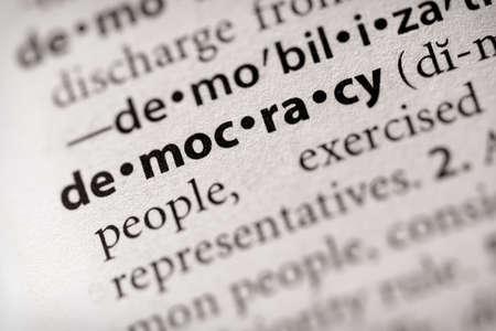 Demokratie: Demokratie