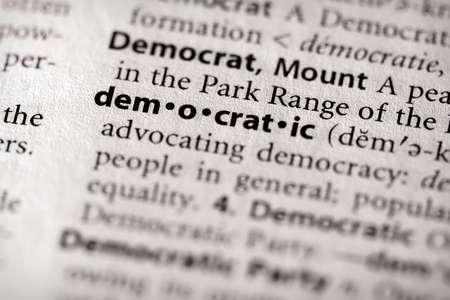democratic: Democratic