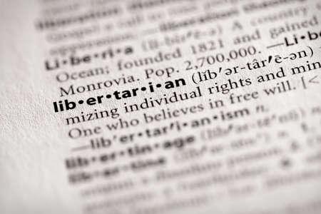 libertine: Libertarian