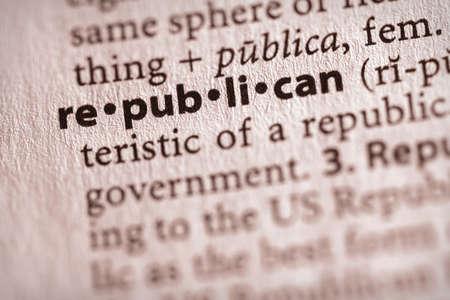 republican: Republican Stock Photo