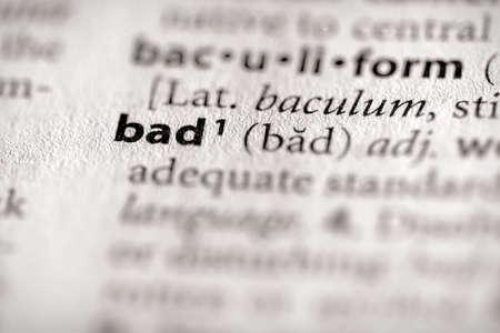 immoral: Bad