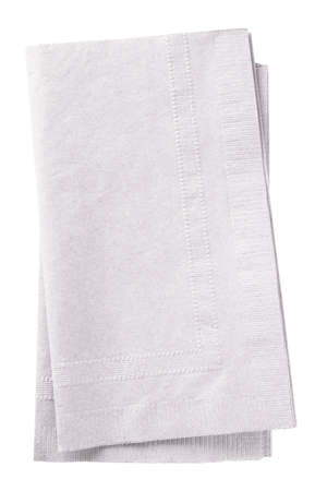 Stack of two white napkins. Stock Photo - 2383077
