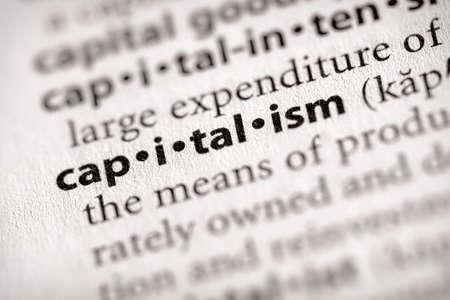 capitalismo: Capitalismo Foto de archivo