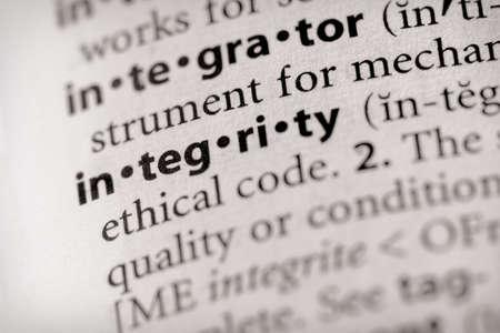 Integrity Stok Fotoğraf