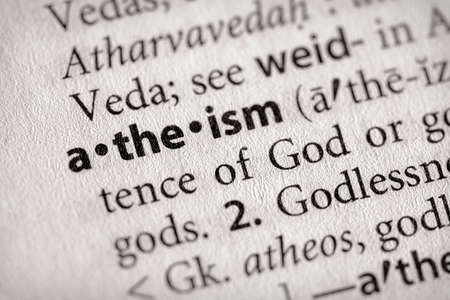 atheism Stock Photo