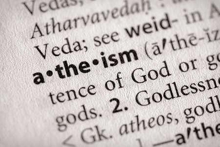 Atheismus  Standard-Bild - 2989632