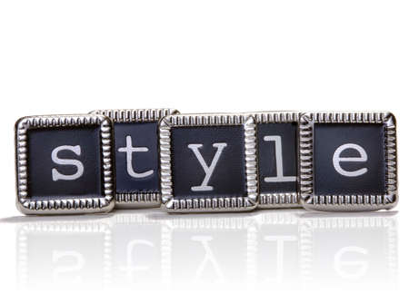 The word style photo