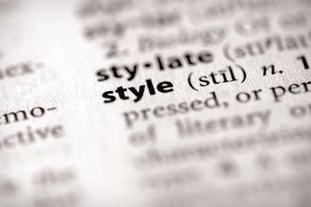 Style Stock Photo