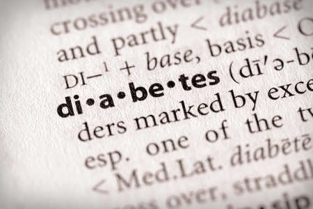 Diabetes Stok Fotoğraf