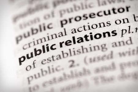 relations publiques: Relations publiques Banque d'images