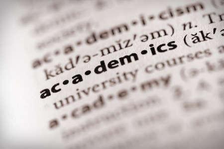 collegial: Academics