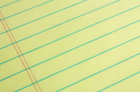 Legal pad of yellow paper background - add your business or legal message Stock Photo - 4105045