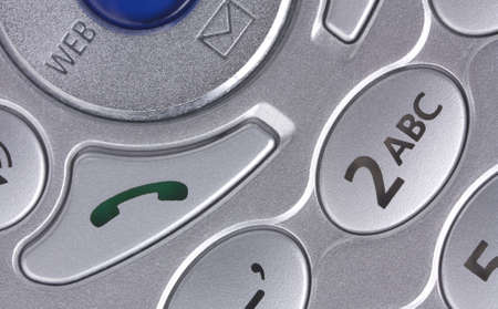 Extreme close-up of a cellmobile phones buttons photo