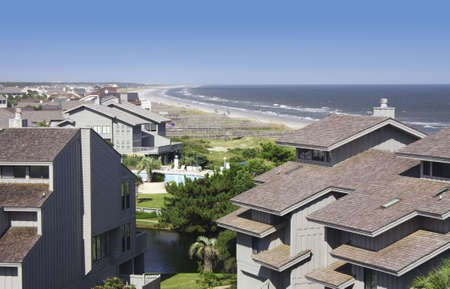 timeshare: Beachfront condos in South Carolina, U.S.A.