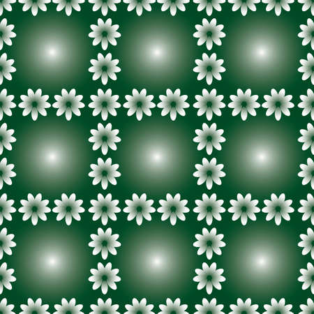 Green seamless background. Vector illustration Stock Vector - 3805967