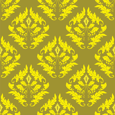 Gold seamless background. Vector illustration Stock Vector - 3886210