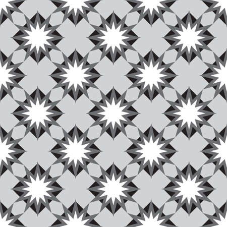 Abstract diagonal black and white background. Vector illustration Vector