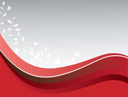 Abstract background of red on gray. Vector illustration Vector