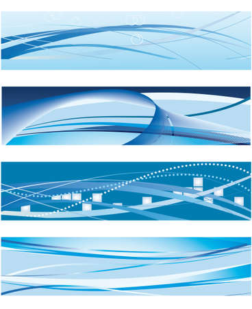 A set of banners for the design. Vector illustration Vector